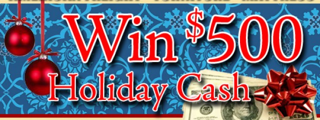 Holiday Cash Contest