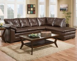 freeport brown sectional