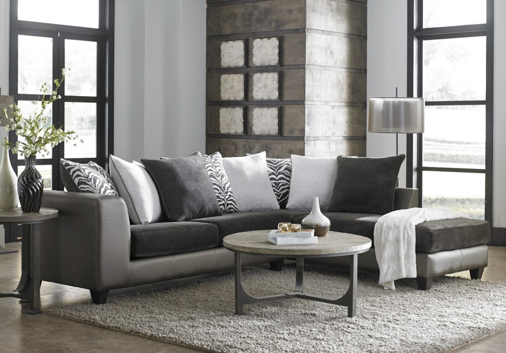 Featured Friday Shimmer Magnetite Sectional American Freight
