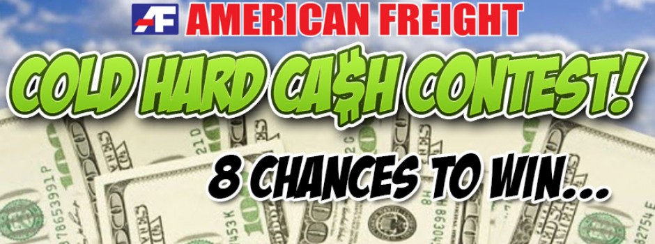Cold Hard Cash Contest