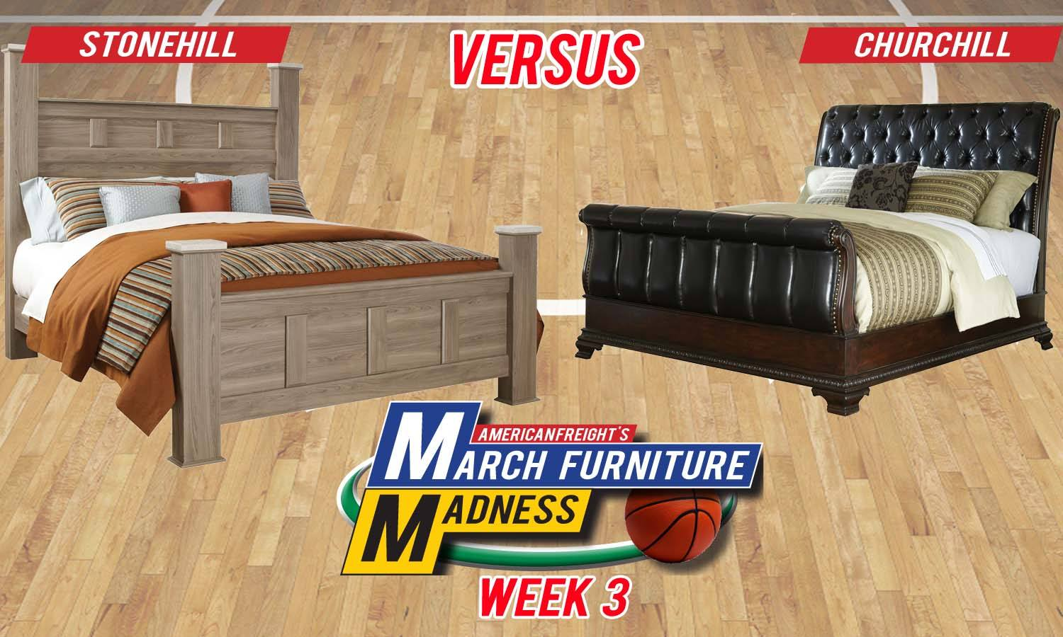 american freight bedroom sets.  March Furniture Madness Round Three American Freight
