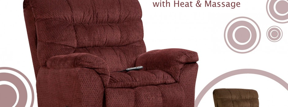 Aegean Wine Recliner with Heat and Massage