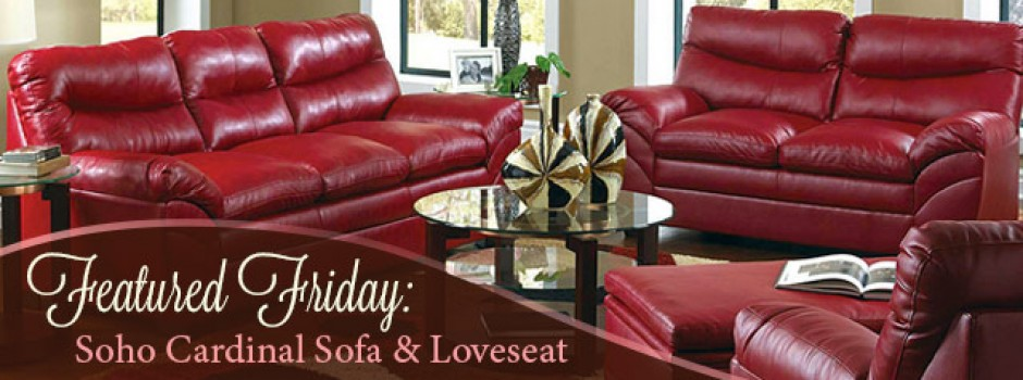 Soho Cardinal Sofa and Loveseat