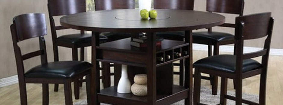 Conner 5 Piece Counter Height Dinette