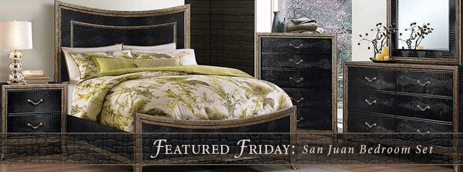 featured furniture san juan bedroom set