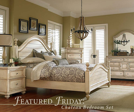 Featured furniture chateau bedroom set for American freight bedroom furniture