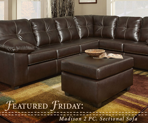 Madison 2 Piece Sectional Sofa : madison sectional sofa - Sectionals, Sofas & Couches