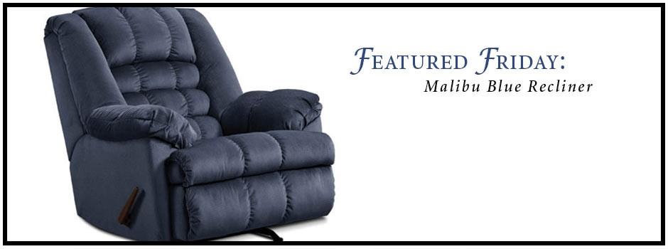 Malibu Blue Recliner
