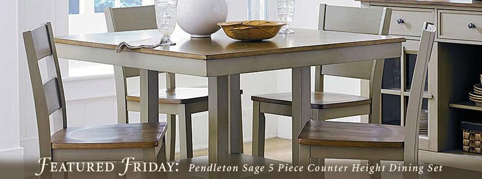 Pendleton Sage Dining Set