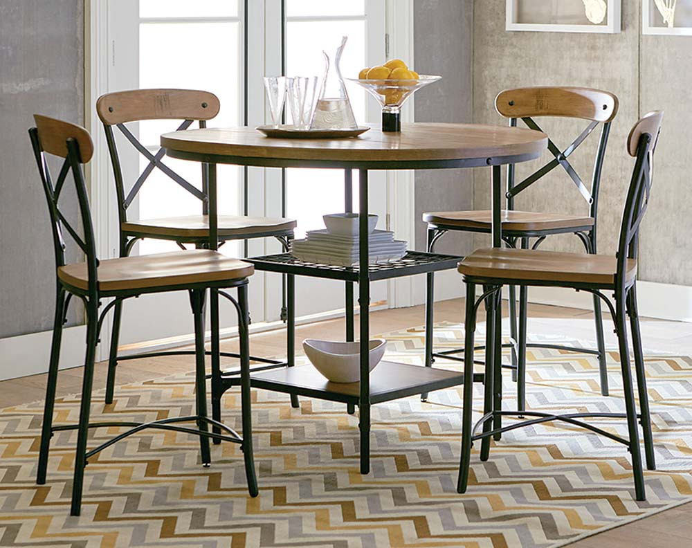Ridgewood Pub Height 5 Piece Dining Set