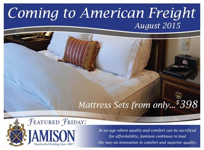 Featured Friday: Jamison Mattress Collection