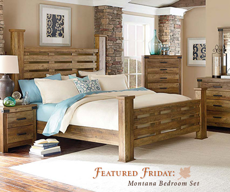 Featured Furniture Montana Bedroom Set
