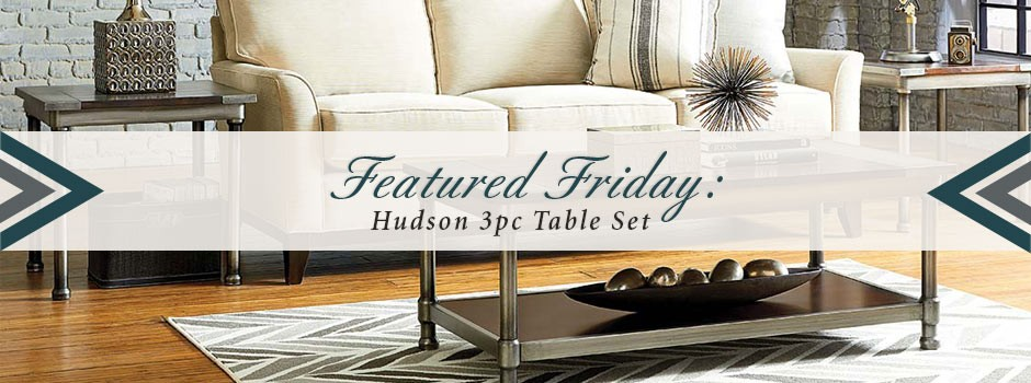 Hudson 3 Piece Table Set
