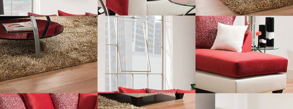 Jello Cardinal Sectional Sofa