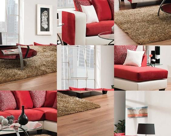 Jello Cardinal Sectional Sofa