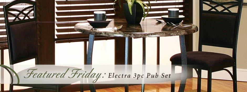 Electra Pub Set