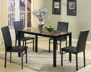 Aiden 5 Piece Dinette Set