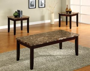 Ferrara 3 Piece Table Set