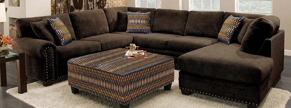 Bingo Chocolate 3 Piece Sectional Sofa