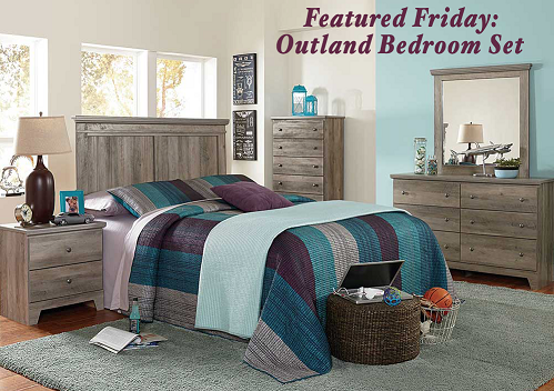 featured friday outland bedroom set american freight