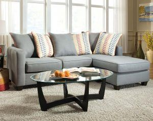 Mode Gray 2 PC. Sectional Sofa
