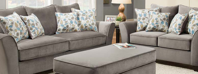 Featured Friday: Bella Gray Sofa and Loveseat