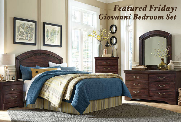 Featured Friday: Giovanni Bedroom Set | American Freight Furniture ...