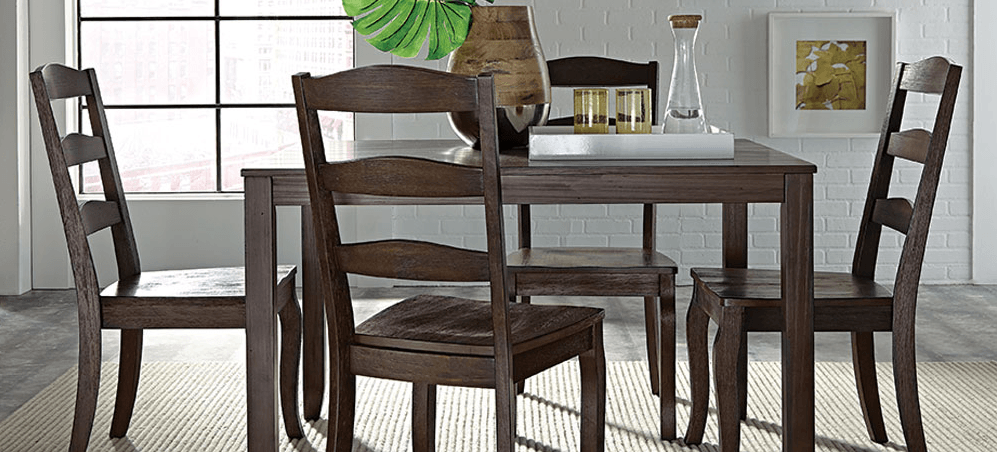 Featured friday weston 5 piece dining set american for American furniture dinette sets