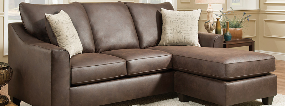 Pueblo Chocolate 2 Piece Sectional Sofa