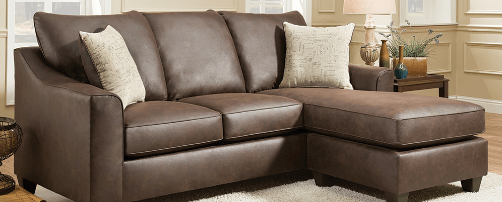 Featured Friday Pueblo Chocolate Two Piece Sectional American Freight Furniture Blog