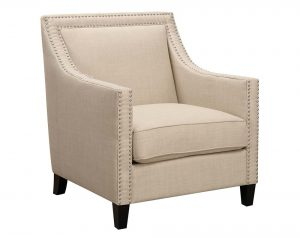 Erica Taupe Accent Chair