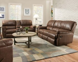 Renegade Mocha Reclining Sofa & Loveseat