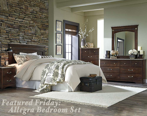 Featured friday allegra bedroom set american freight for American freight bedroom furniture