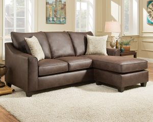Pueblo Chocolate 2 PC. Sectional Sofa