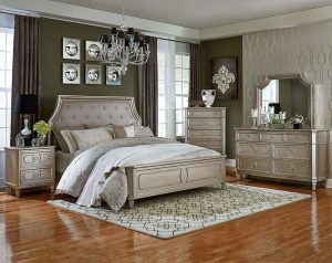 Windsor Silver Bedroom Set