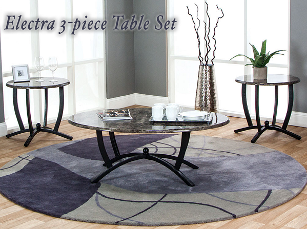 Electra 3 Piece Table Set