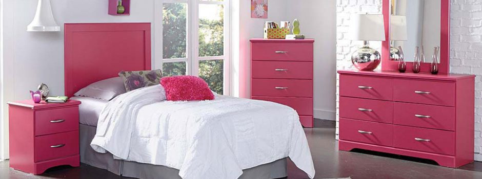 True Love Pink Bedroom Set