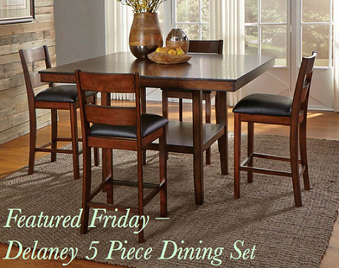 Delaney 5 Piece Dining Set