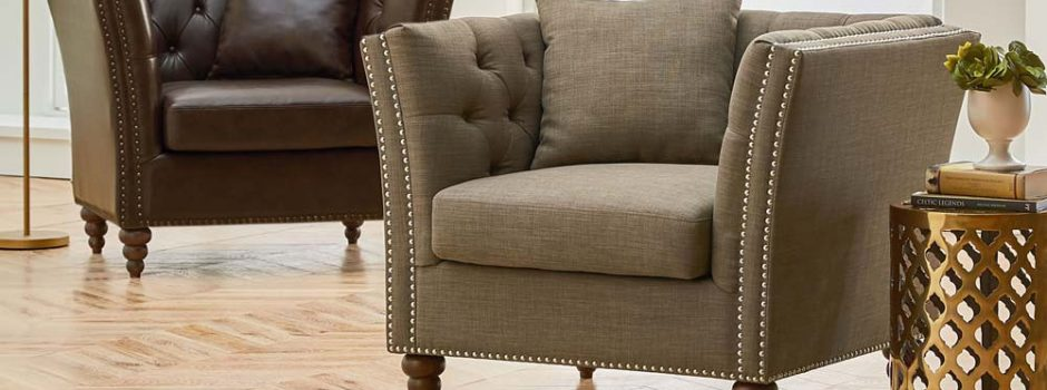 Westerly Chocolate Accent Chair