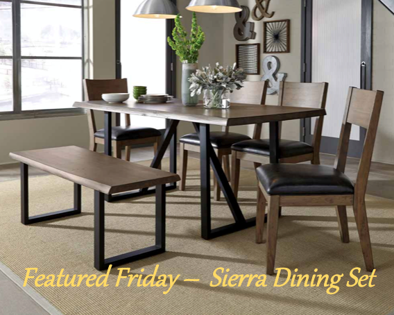 Sierra 5 Piece Dining Set