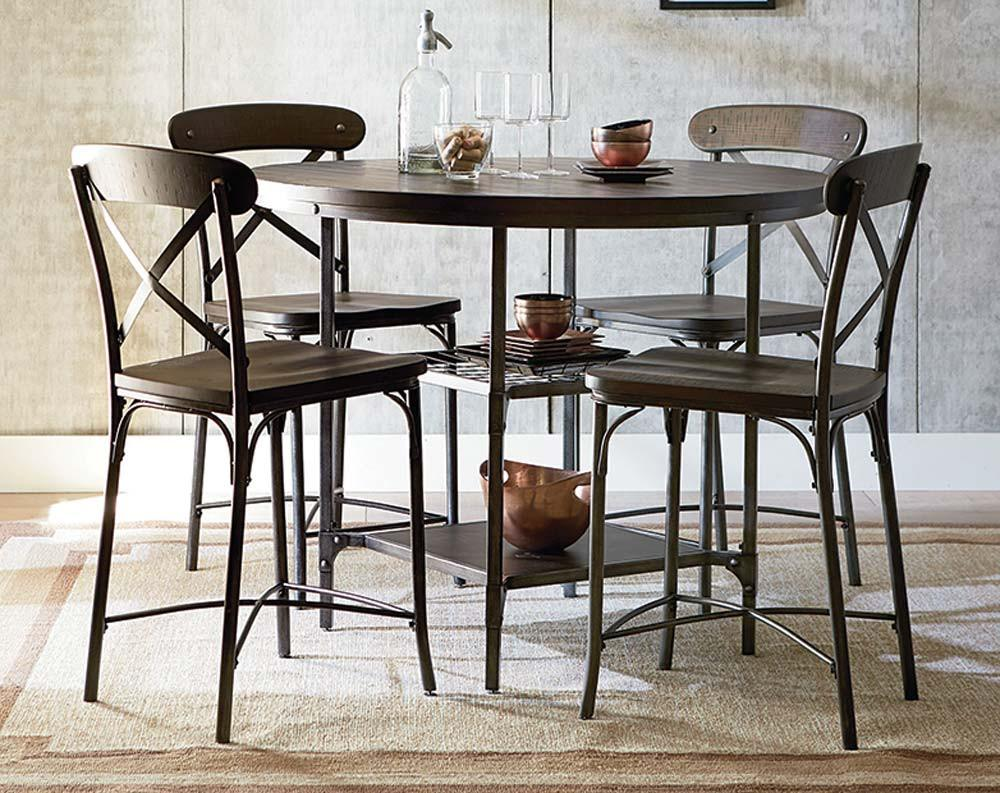 Featured Friday Montvale Pub Height 5 Piece Dining Set