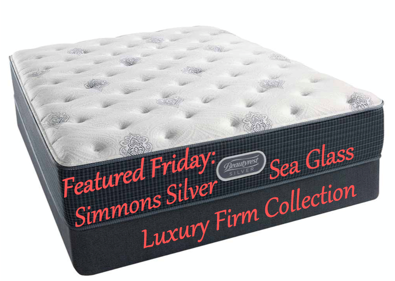 Featured Friday-Simmons Silver Sea Glass Luxury Firm Collection