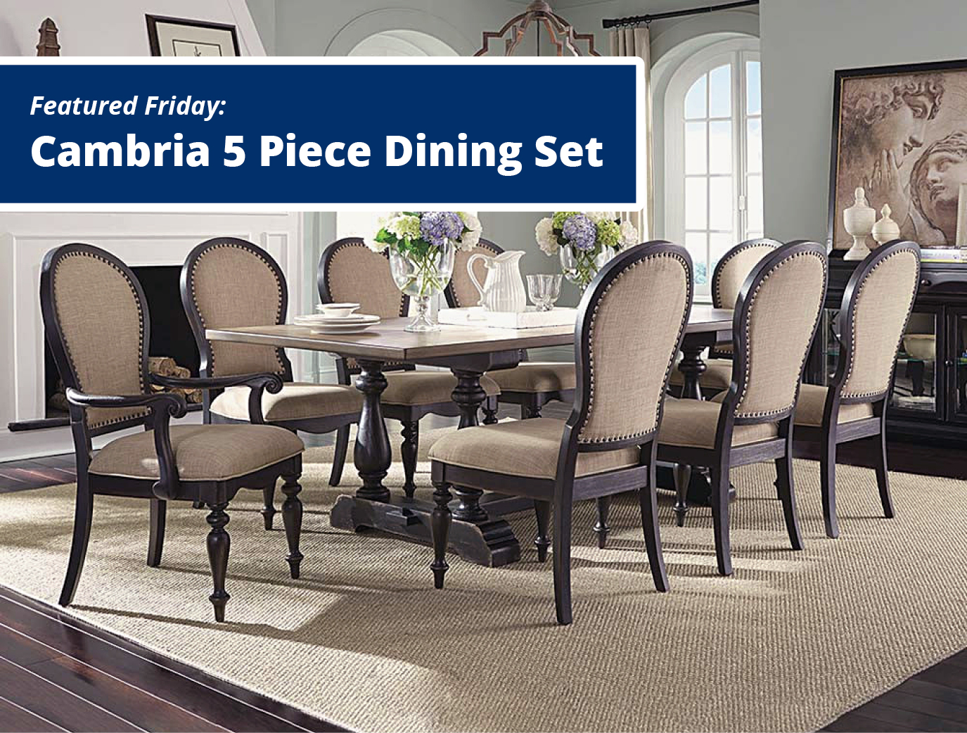 Featured Friday: Cambria 5 Piece Dining Set