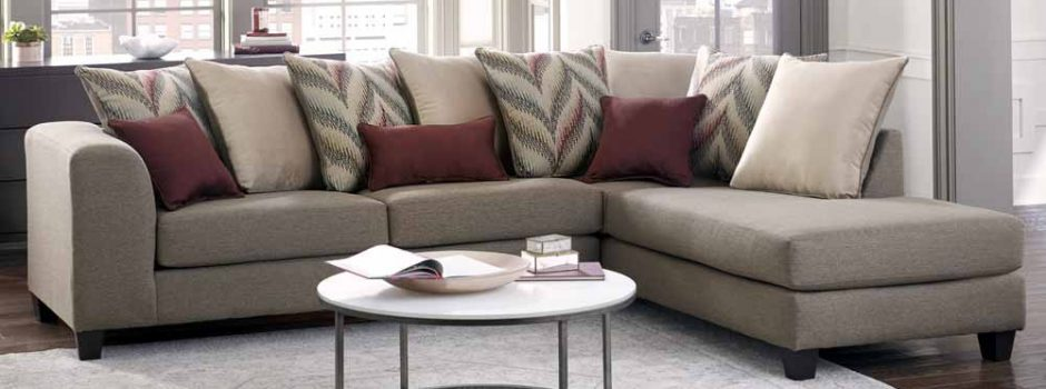 Awesome 2 Piece Sectional Sofa