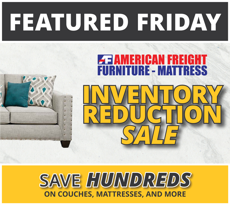 Does American Freight Furniture Delivery: Featured Friday: Inventory Reduction Furniture Sale