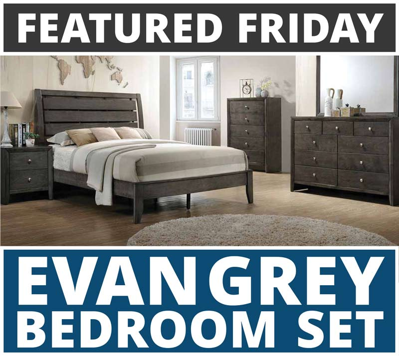 Featured Friday: Evan Grey Bedroom Set (From $398!) | American ...