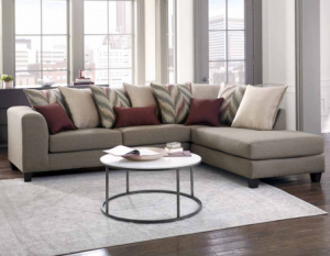 American Freight Statement Sectional Sofa