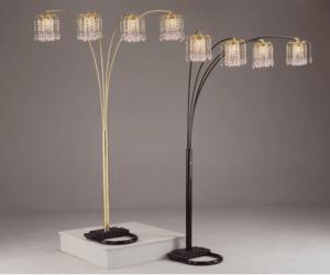 American Freight Rain Drop Floor Lamps