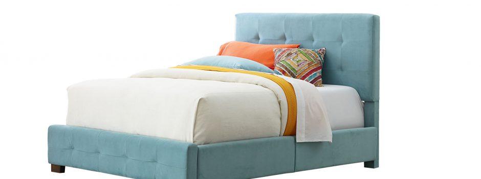 Blue Silo: blue bedroom