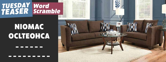 Brown Sofa Loveseat set Tuesday Teaser